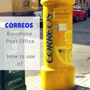 Barcelona Post Office (Correos): How to use it?