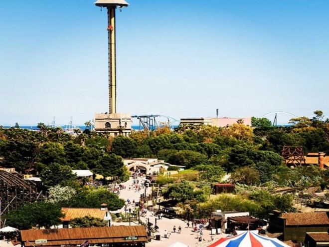 PortAventura Barcelona: A Great Amusement Park Image