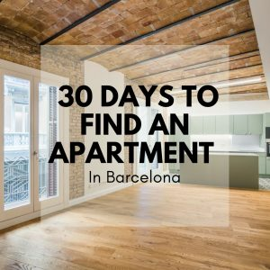 30 Days to Find an Apartment in Barcelona