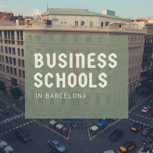 Business schools in Barcelona