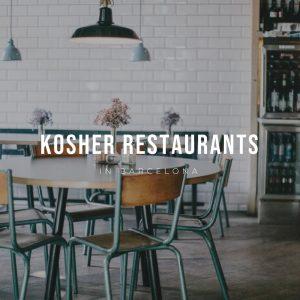 Kosher Restaurants in Barcelona – Jewish goodies and delis!