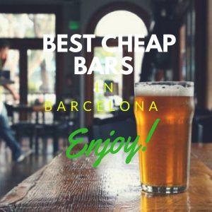 Cheap Bars in Barcelona: Barcelona's Best Cheap Bars