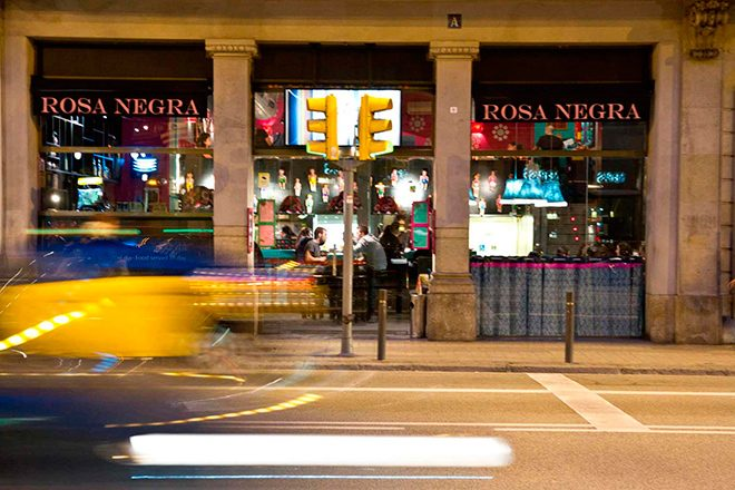 Mexican foods in Barcelona? You should definitely try Rosa Negra! Image
