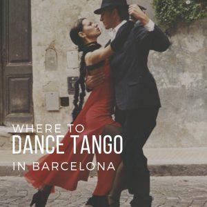 Barcelona ballroom dancing: Where to dance Tango in Barcelona