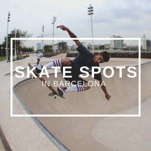 Skate spots in Barcelona