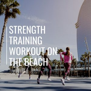 Sport in Barcelona: Strength Training Workout on the Beach