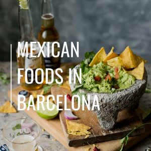 Mexican foods in Barcelona? You should definitely try Rosa Negra!