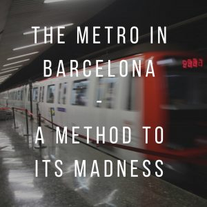 The Metro in Barcelona: A method to its madness