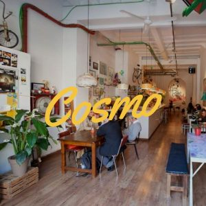 All in one fun: A Barcelona Cafe plus a Barcelona Gallery