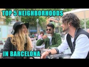 5 Best Neighbourhoods in Barcelona