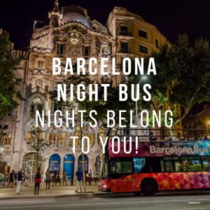 Barcelona Night Bus: Nights Belong to You!