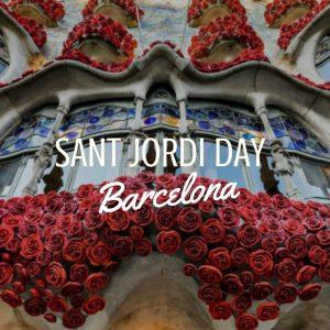 Sant Jordi Day Barcelona 2018