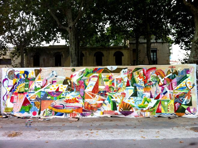 Outstanding Street Art in Barcelona Image