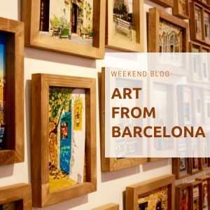 The SuiteLife weekend blog  Vol 1.  - Art from Barcelona