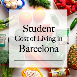 Student Cost of Living in Barcelona