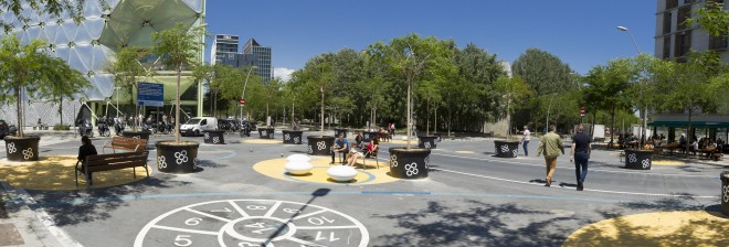 The Poblenou Superblock : Barcelona is Going Pedestrian! Image