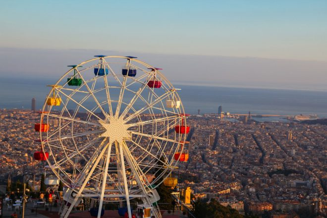 The perfect sunset places in Barcelona! Image