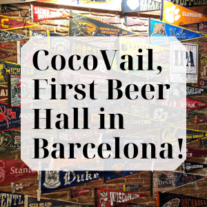 CocoVail Beer Hall in Barcelona: Wings, Craft Beer and American Comfort at it's Finest